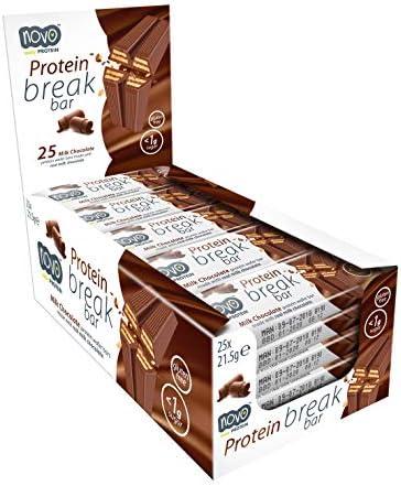 Novo Nutrition Protein Break Bar, 1er Pack(1 x 538 g)