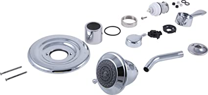 1700 Series Delta Monitor Shower Faucet.Delta Faucet Rp29405 1500 To 1700 Series Conversion Kit Chrome
