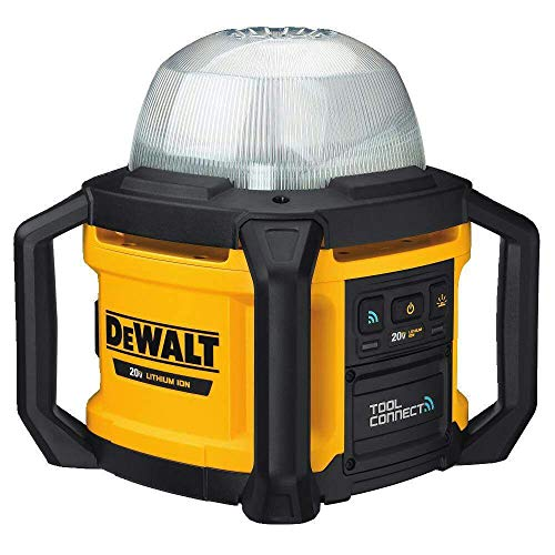 - DEWALT 20V MAX LED Work Light, Tool Only (DCL074)
