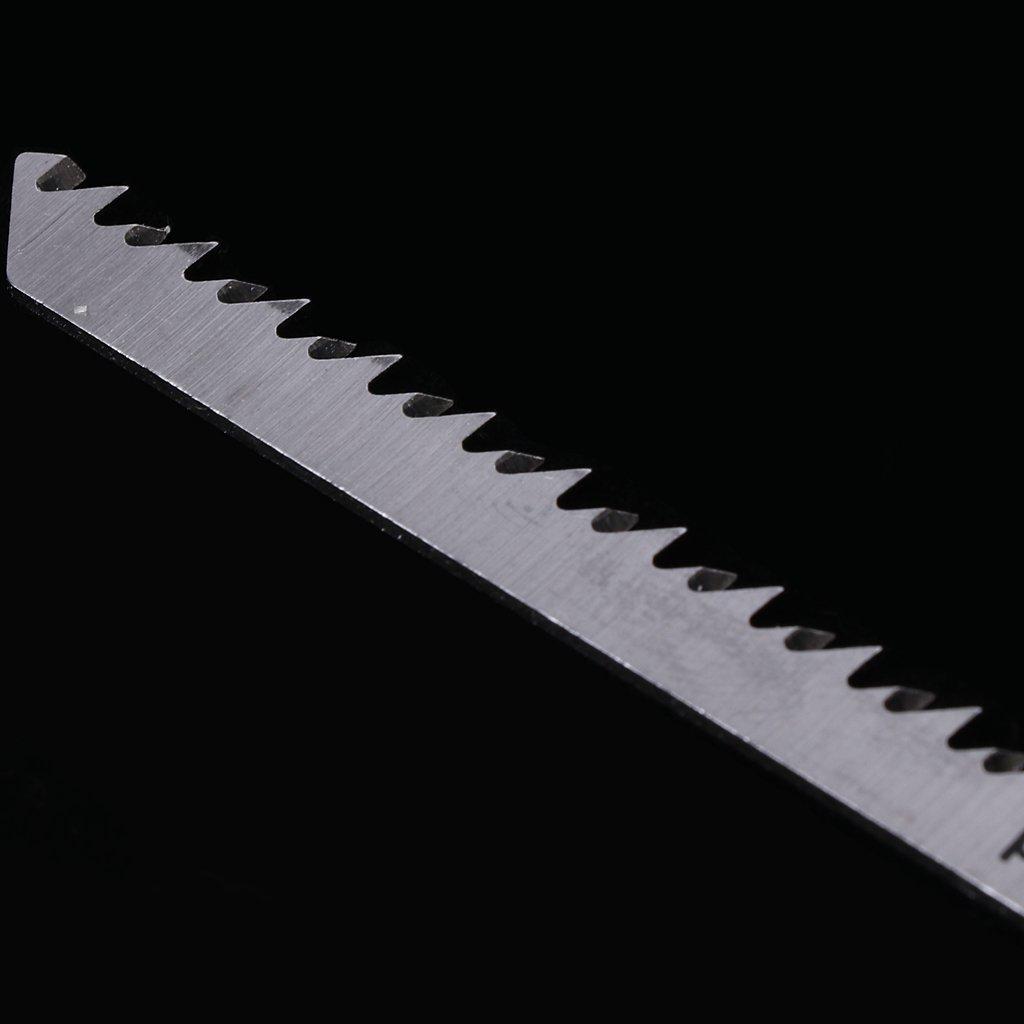 Zzzweny 5 pcs T301CD HCS 116mm scie sauteuse /à lames en T nettoyer pour bois coupe rapide
