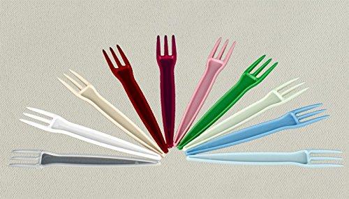 Sch/ägner Fourchettes pour Frites Plastique 10000/Pi/èces 74/mm de Long