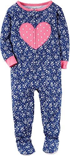 Carters Little Girls Cotton Pajamas