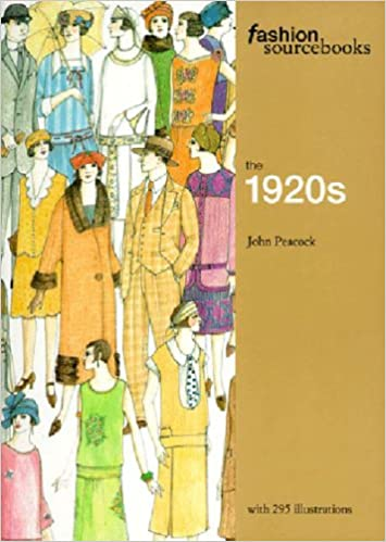 1920s Fashion Books, 20s Fashion History The 1920s (Fashion Sourcebooks)  AT vintagedancer.com