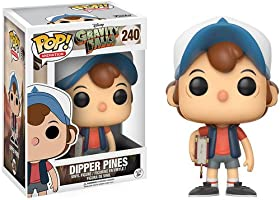 Funko Gravity Falls POP! Animation Dipper Pines Vinyl Figure #240 [Regular Version], Styles may vary