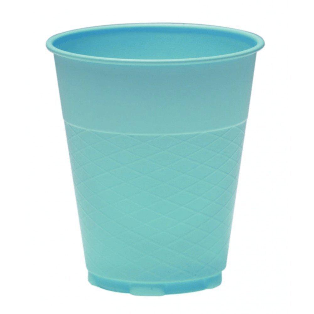 House Brand DI318 Plastic Cups 5oz. 1000/Cs Beige