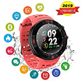GPS Running Sport Watch,GPS Smart Watch Outdoor Waterproof Watch,Multi-Function Mode,for Tracking Running,Hiking,Heart Rate