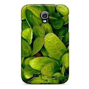 Galaxy S4 Green Retina Print High Quality Tpu Gel Frame Case Cover