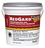 CUSTOM BLDG PRODUCTS LQWAF1-2 Redgard Waterproofing, 1 gal