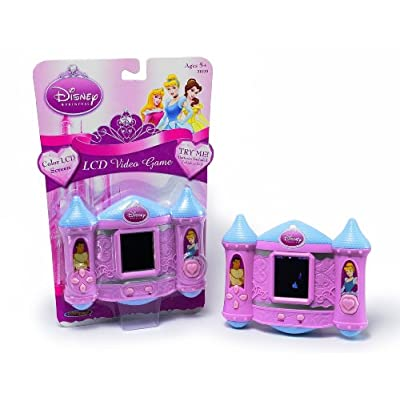 Techno Source Disney Princess LCD Handheld Game: Toys & Games