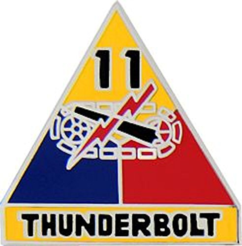 11th Armored Division Small Hat Pin (Armored Division Small Hat Pin)