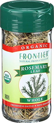 Frontier Herb Rosemary Leaf - Organic - Whole - Kosher - .85 oz ()