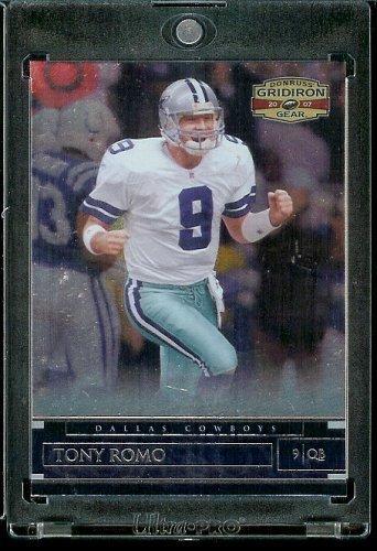 2007 Donruss Gridiron Gear # 1 Tony Romo - Dallas Cowboys - NFL Trading Football Card by Donruss