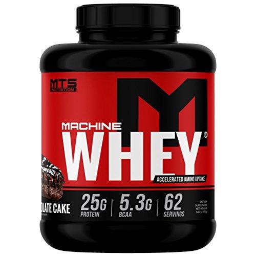(MTS Machine Whey Protein (5lbs, Triple Chocolate Cake))