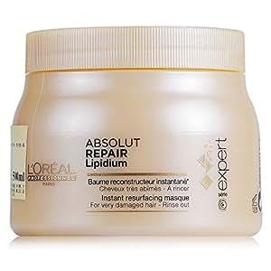 L'Oréal Professionnel - Absolut Repair Lipidium - Bálsamo reconstructor instantáneo para cabello muy dañado - 500 ml