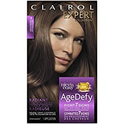 Clairol Age Defy Expert Collection, 5 Medium Brown, Permanent Hair Color, 1 Kit
