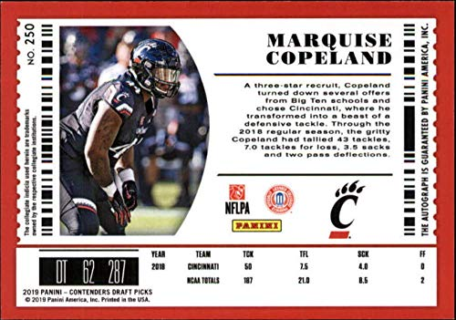 hot sale online 832b4 f747d Amazon.com: 2019 Panini Contenders Draft Tickets College ...