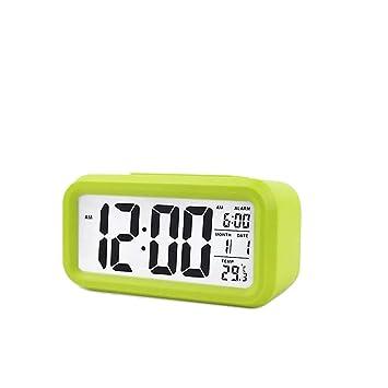 Alarma Reloj Despertador Digital Inteligente LED Digital Del ...