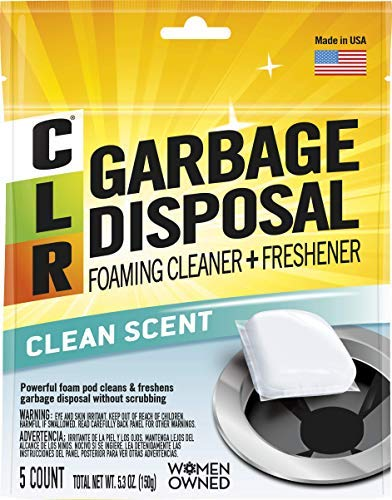 Garbage Disposal Cleaner Pods, Clean Scent - 5 count ()