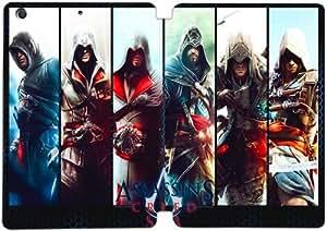 [PU del tirón del cuero] mini iPad funda,Assassins Creed Saga [Theme] iPad mini 1 Mini 2 Mini 3 funda [Con Pantalla Protecto] KA7683