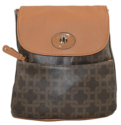 rosettir-vintage-logo-motion-casual-backpack-brown
