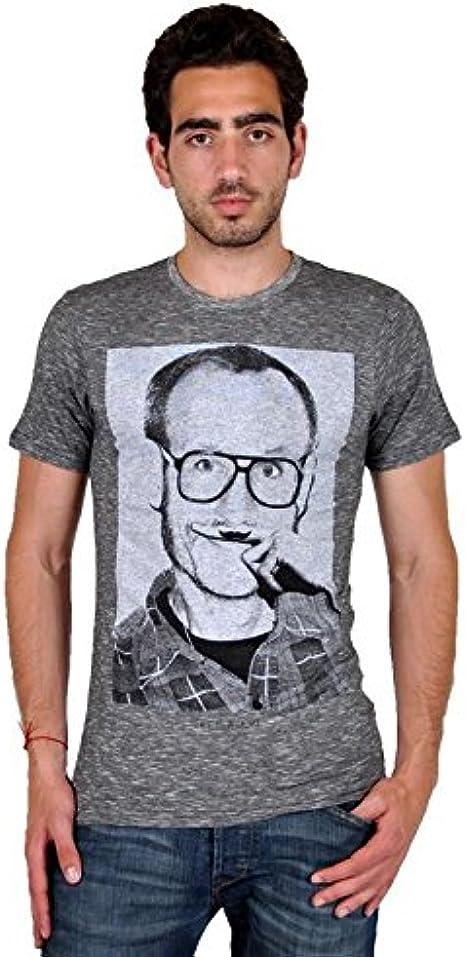Camisa Eleven Paris Terry Ts Terry Richardson Gris De Algodón Vintage: Amazon.es: Ropa y accesorios