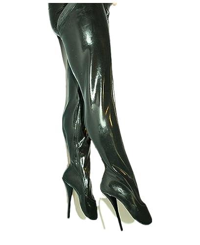 Latex Overknee Stiefel Heel 20cm 40 39 41 42 43 44 45 46 47