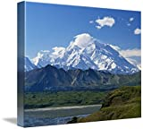 Wall Art Print entitled Snow-Covered Mount Mckinley by Panoramic Images