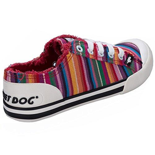Rocket Dog - Zapatos de cordones de Tela para mujer