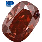 0.46 Ct Natural Loose Diamond Cut Oval Shape Pink Color SI1 Clarity 5.70X4.00X2.45 MM L1654