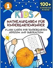 Matheaufgaben Für Kindergartenkinder Flash Cards for Kindergarten Addition and Subtraction: Big book of math practice problems addition subtraction ... books for children ages 3-5 (German Edition)