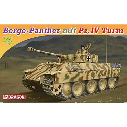 Platts 1/72 Berge Panter Panzer IV turret equipped with plastic model DR7508