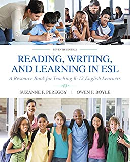 Reading, Writing and Learning in ESL: A Resource Book for Teaching K-12