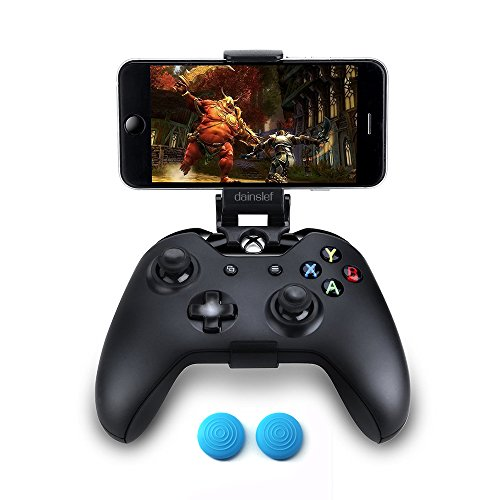 Dainslef Foldable Mobile Phone Holder Smartphone Clamp Game Clip For Microsoft Xbox One xbox 1 Game Controller For Iphone Samsung Sony HTC LG Huawei