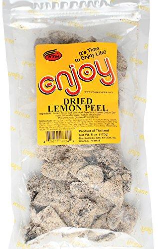 Enjoy Dried Lemon Peel (6 oz)