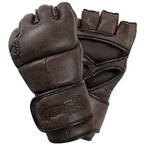 Hayabusa Kanpeki Elite 2.0 MMA Gloves, 4-Ounce/Small, Brown