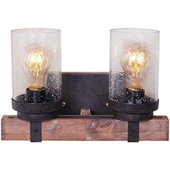Mason Jar Vanity Light Wall Sconce 3 Mason Jar Bathroom Light