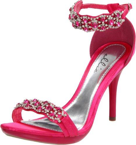 Ellie Shoes Women's 431-Sterling, Fuschia, 9 M US ()