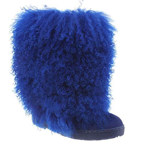 Bearpaw Boots Womens Boetis Curly Lamb Fur 11