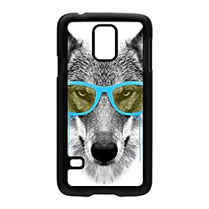 Blue Swag Wolf Black Hard Plastic Case for Samsung? Galaxy S5 by Gangtoyz + FREE Crystal Clear Screen Protector