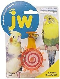 JW Pet Company Activitoys Hypno Wheel Bird Toy