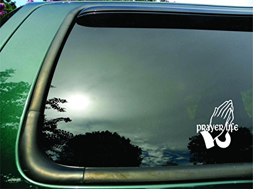 prayer window decal - 5