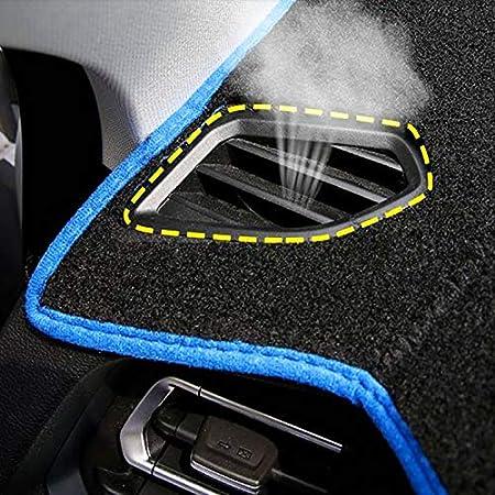 Auto Dashboard Cover F/ür Focus 3 MK3 Dashmat Pad Rutschfester Teppich 2012-2018 blue side