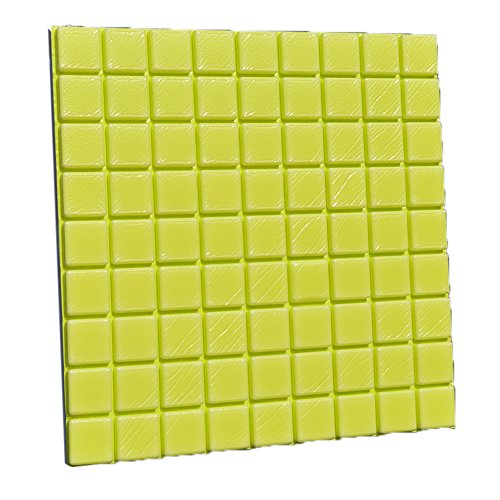 2Pcs PE Foam 3D Self-Adhesive Wall Stickers Decor Tile Waterproof Wall Stickers