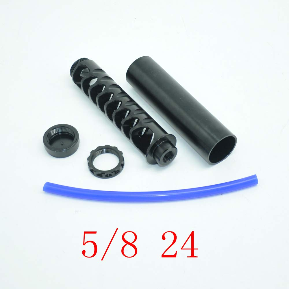 Aluminum Black Fuel Filter 5//8 24