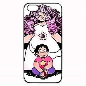 Steven Universe Steven and Rose Quartz 2 Custom Diy Unique Image Durable Rubber Silicone Case for Iphone 5 5S Case