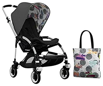 Amazon.com: Bugaboo Bee3 Accessory Pack - Andy Warhol Dark Grey/Transport (Special Edition): Baby