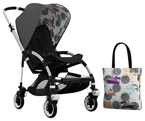 Bugaboo Bee3 Accessory Pack - Andy Warhol Dark Grey/Transport (Special Edition) by Bugaboo