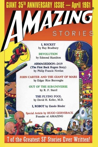 Amazing Stories Giant Anniversary Issue product image