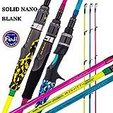 "3. GOOFISH Solid Nano Blank Slow Jigging Rod Light Shore Jigging Rod Slow Action Pitch Rod Pe 2-4 1.98m(6'6"")"