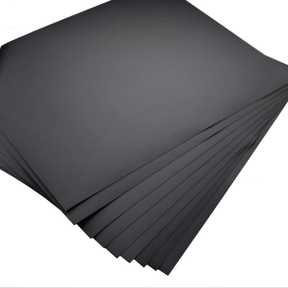 Elrido 50pcs Sandpaper Sheets Grit of 800, 9x11 inch Abrasive Dry Wet Waterproof Sandpaper Well Sanding Assorted for Guitar Subject, Furniture, Hobbies and Home Improvement (800 Grit - 50pcs)